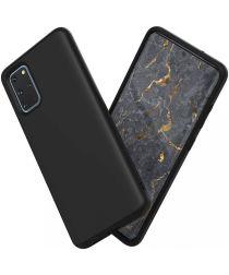 RhinoShield SolidSuit Samsung Galaxy S20 Plus Hoesje Classic Zwart