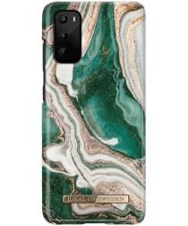 iDeal of Sweden Fashion Samsung Galaxy S20 Hoesje Golden Jade Marble