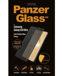 PanzerGlass Privacy Glass Samsung S20 Ultra Screen Protector Zwart