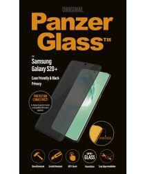 PanzerGlass Privacy Glass Samsung S20 Plus Screen Protector Zwart