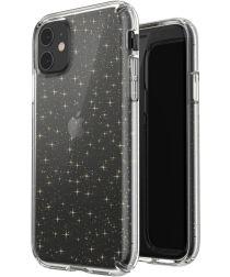 Speck Presidio Apple iPhone 11 Hoesje Transparant Shockproof Glitter