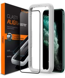 Spigen Apple iPhone 11 Pro AlignMaster Tempered Glass met Montageframe