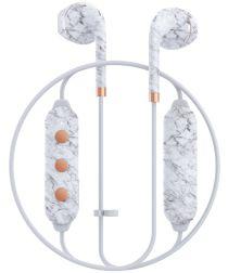 Happy Plugs Wireless II Draadloze In-Ear Bluetooth Headset Wit Marmer
