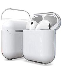 Apple AirPods Hoesje Hard Plastic Case Volledig Transparant