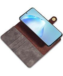 Samsung Galaxy S20 Ultra 2-in-1 Bookcase en Back Cover Hoesje Grijs