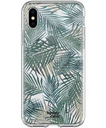 HappyCase Apple iPhone XS Hoesje Flexibel TPU Jungle Print