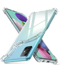 Samsung Galaxy A51 Hoesje Shock Proof Transparant