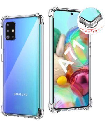 Samsung Galaxy A71 Hoesje Schokbestendig Transparant