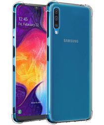 Samsung Galaxy A50 Transparant Schokbestendig Hoesje