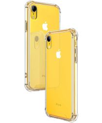 Apple iPhone XR Hoesje Schokbestendig Transparant