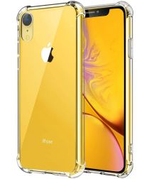 Apple iPhone XR Hoesje Schokbestendig Transparant