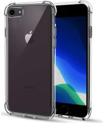 Apple iPhone 8 / 7 Hoesje Schokbestendig en Dun TPU Transparant