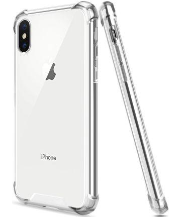 Apple iPhone XS Hoesje Schokbestendig Transparant Hoesjes