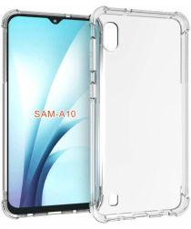 Samsung Galaxy A10 Hoesje Schokbestendig Transparant