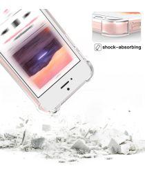 Apple iPhone SE / 5S / 5 Schokbestendig Hoesje Transparant