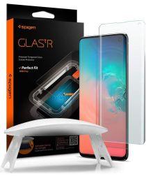 Spigen Glas tR Platinum Samsung Galaxy S10 Tempered Glass