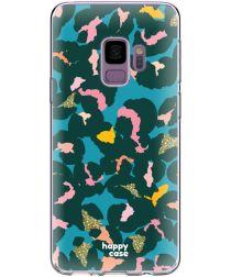 HappyCase Samsung Galaxy S9 Hoesje Flexibel TPU Summer Leopard Print