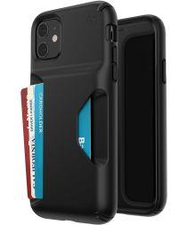 Speck Presidio Wallet Apple iPhone 11 Hoesje Zwart Kaarthouder