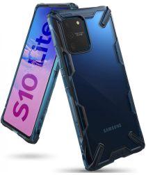 Ringke Fusion X Samsung Galaxy S10 Lite Hoesje Blauw