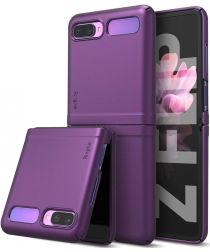 Ringke Slim Samsung Galaxy Z Flip Hoesje Ultra Dun Paars