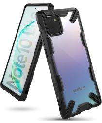 Ringke Fusion X Samsung Galaxy Note 10 Lite Hoesje Zwart