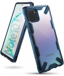 Ringke Fusion X Samsung Galaxy Note 10 Lite Hoesje Blauw