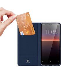 Dux Ducis Skin Pro Series Sony Xperia L4 Hoesje Blauw