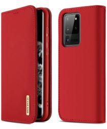Samsung Galaxy S20 Ultra Leren Hoesjes