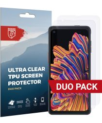 Rosso Samsung Galaxy Xcover Pro Ultra Clear Screen Protector Duo Pack