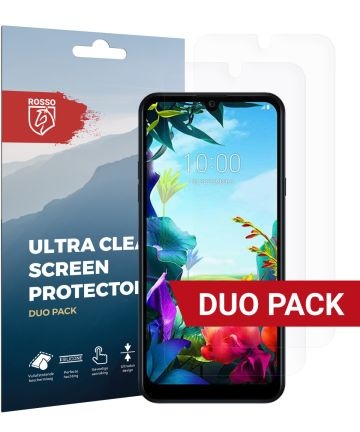 Rosso LG K40S Ultra Clear Screen Protector Duo Pack