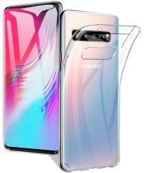 Samsung Galaxy S10 5G Hoesje TPU Transparant