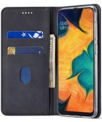 Samsung Galaxy A40 Hoesje Wallet Bookcase Kunstleer Zwart