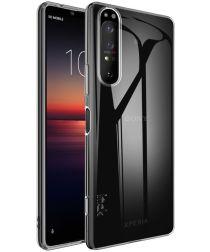 IMAK UX-5 Series Sony Xperia 1 II Hoesje Flexibel TPU Transparant