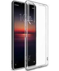 IMAK UX-5 Series Sony Xperia 1 II Hoesje TPU Transparant