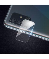 Samsung Galaxy A71 Camera Lens Volledig Dekkende Tempered Glass