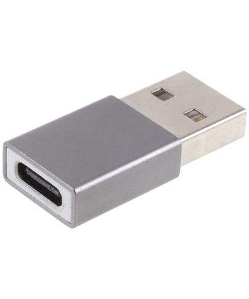 Universele USB-C naar USB-A Converter/Adapter Grijs