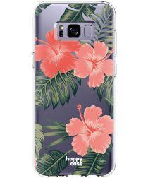 HappyCase Samsung Galaxy S8 Flexibel TPU Hoesje Tropic Vibe Print