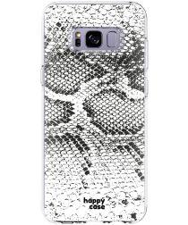 HappyCase Samsung Galaxy S8 Hoesje Flexibel TPU Slangen Print