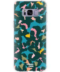 HappyCase Samsung Galaxy S8 Hoesje Flexibel TPU Summer Leopard Print