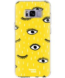 HappyCase Samsung Galaxy S8 Hoesje Flexibel TPU Happy Eyes Print