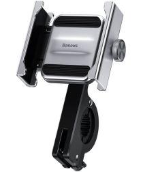 Baseus Knight Telefoonhouder Fiets en Scooter Stuur/Spiegel Zilver