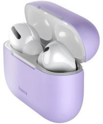 Baseus Ultradun Siliconen Apple AirPods Pro Hoesje Paars