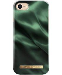 iDeal of Sweden iPhone SE 2020 Fashion Satin Hoesje Groen