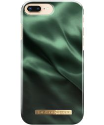 iDeal of Sweden iPhone 8/7/6/6S Plus Fashion Hoesje Emerald Satin