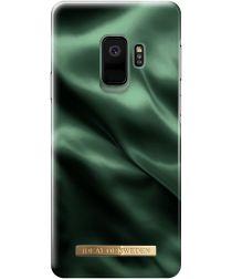 iDeal of Sweden Samsung Galaxy S9 Fashion Hoesje Emerald Satin