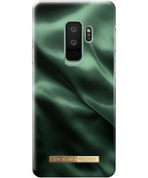 iDeal of Sweden Samsung Galaxy S9 Plus Fashion Hoesje Emerald Satin