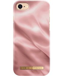 iDeal of Sweden iPhone SE 2020 Fashion Satin Hoesje Roze