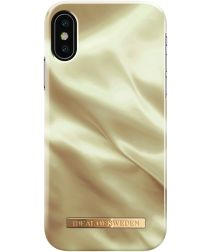 iDeal of Sweden iPhone XS / X Fashion Hoesje Honey Satin