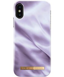 iDeal of Sweden iPhone XS / X Fashion Hoesje Lavender Satin