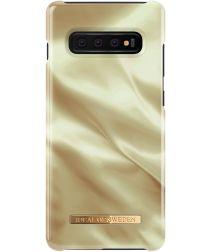 iDeal of Sweden Fashion Galaxy S10 Plus Hoesje Honey Satin